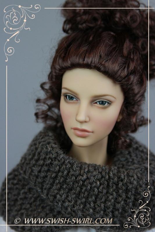 Claire Fraser (Iplehouse EID Carina, February 2013, custom face-up by Cristy Stone)