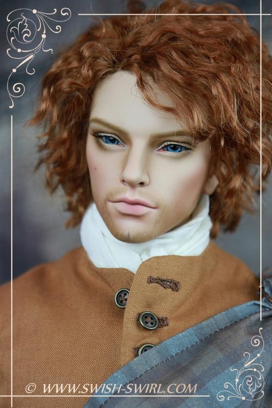 Jamie Fraser (Iplehouse EID Leonard, August 2014, custom face-up by Cristy Stone)