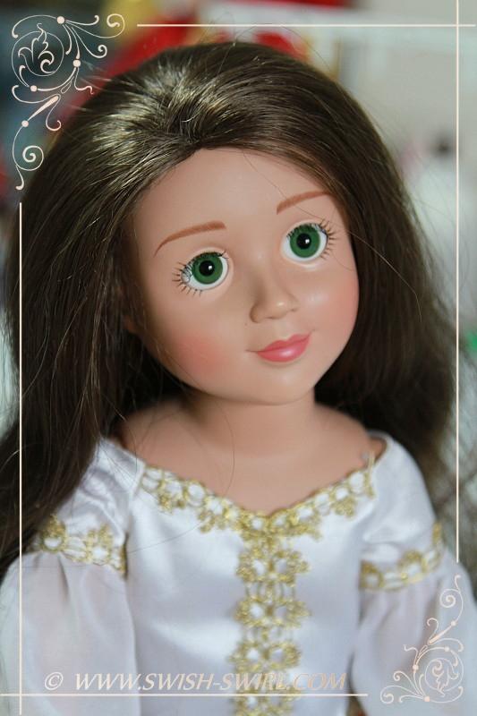 Anastasia / Felicity (Emma, 2008, custom eyes and wig)