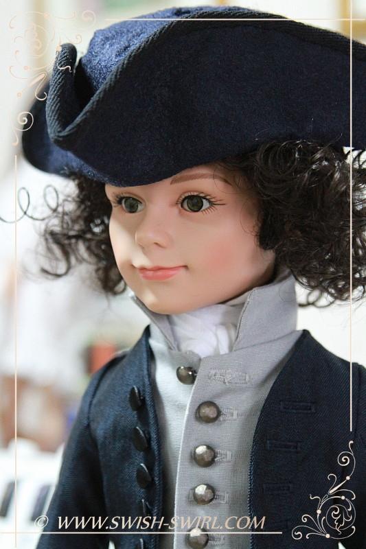 Ross Poldark (Prince Stephan, custom wig)