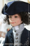 Ross Poldark (Prince Stephan, custom wig)