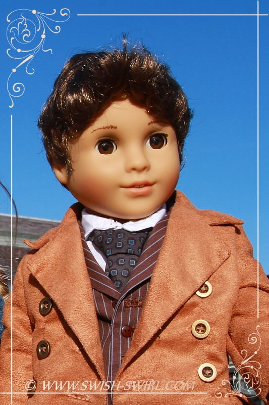 The Tenth Doctor, Doctor Who (customized Marie-Grace with Julie\'s brown eyes and Monique wig)