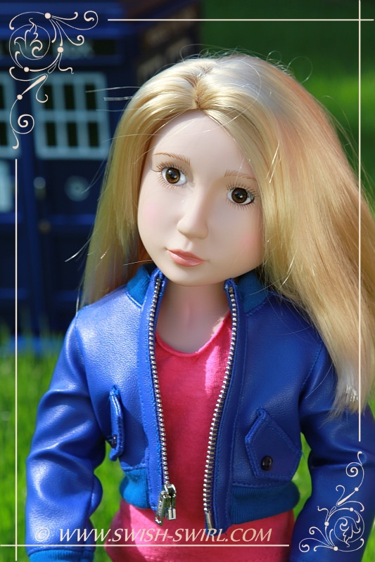 Rose Tyler (Matilda Marchmont, Your Tudor Girl, 2011, custom eyes and wig)
