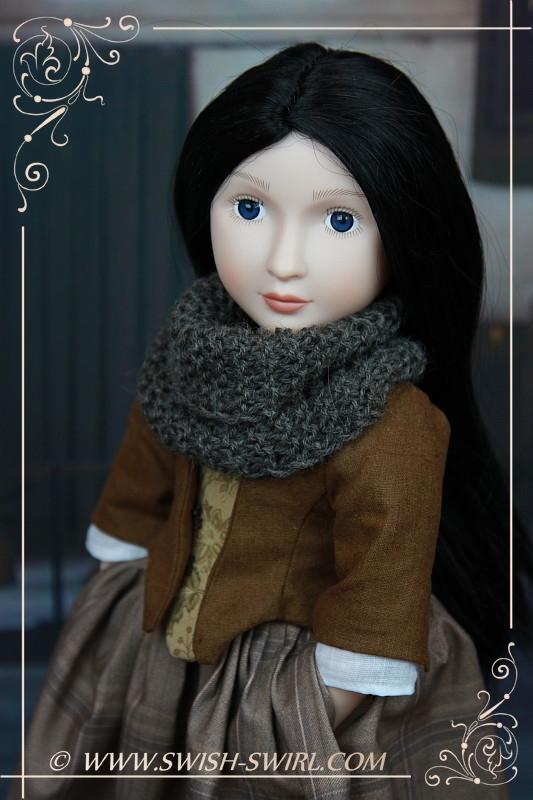 Claire Fraser (Lydia Peyton, Your Georgian Girl, 2014)