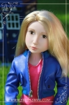 Rose Tyler (Matilda Marchmont, Your Tudor Girl, 2011, custom eyes and wig)