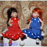 Dresses for Kish dolls Riley