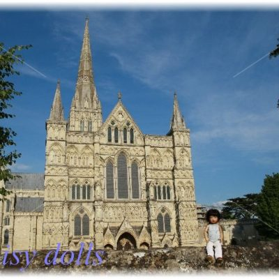 Lily's trip to the UK. Part 4. Salisbury Cathedral