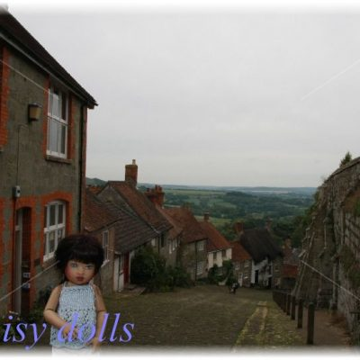 Lily's trip to the UK. Part 7. Old Sarum
