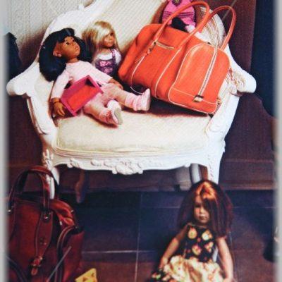 Мои куклы в журнале Her World
