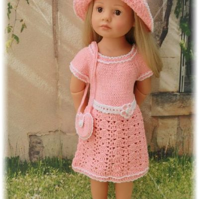"Dress set ""Pink Delight"""