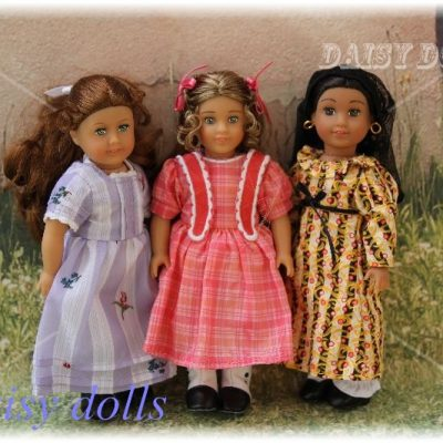 Mini American Girl dolls