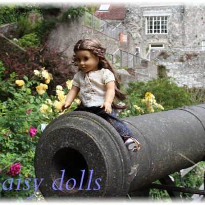 Marie-Grace in England. Part 3. Lewes Castle