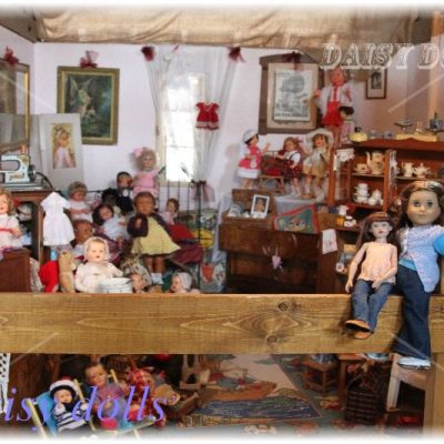 Exhibition of Raynal dolls in Alsace