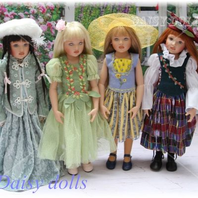 The Four Seasons dolls