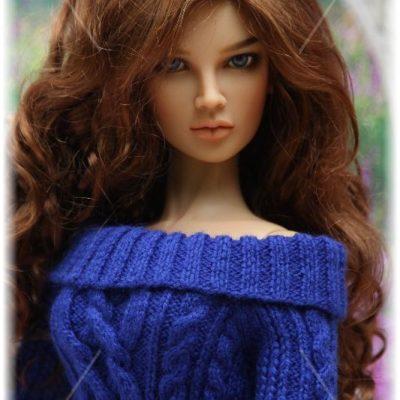 Платье с косами для Ольги
