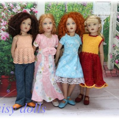 Four Kish dolls