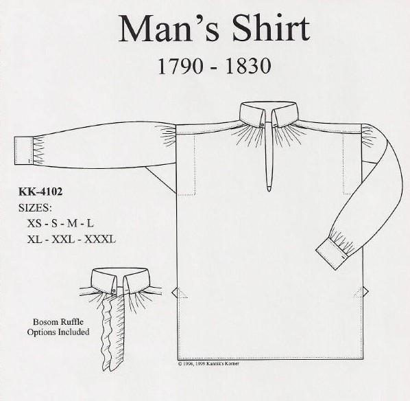 shirt pattern 3