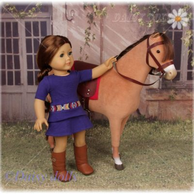 Saige and her horse