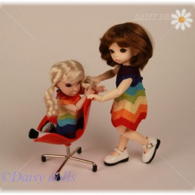 Two Rainbow dresses