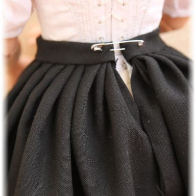 Jane Eyre project. Dress for Jane. Skirt