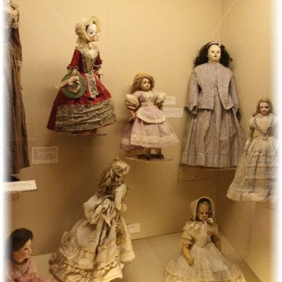 Dolls in Salisbury Museum