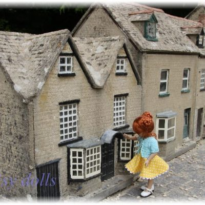 Anika in the Model Village (England)