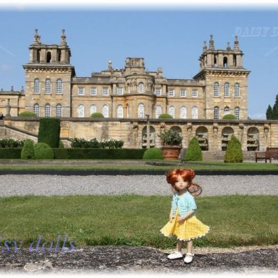 Anika in Blenheim Palace