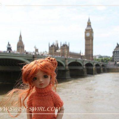 Anika in London
