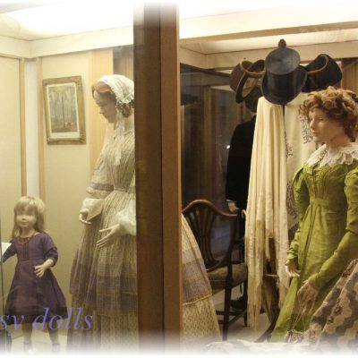 Salisbury Museum Costume Exhibition. 1840-1860s