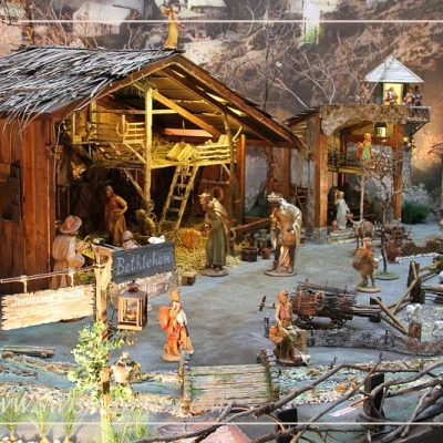 Nativity miniature