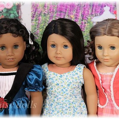 American Girl dolls comparison