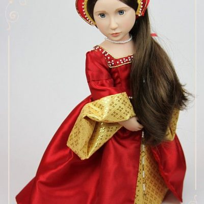 Tudor gown for Matilda – details