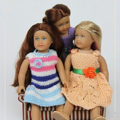 Dresses for Mini AG dolls