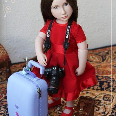 Матильда едет в путешествие
