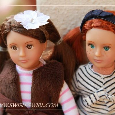 Our Generation mini dolls
