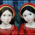 Two Tudor girls