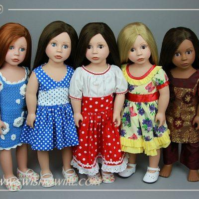 Bonnie & Pearl dolls