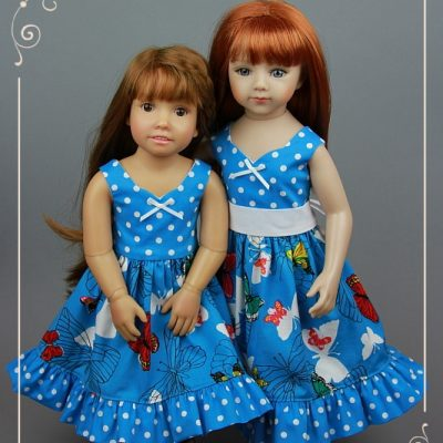 Two more Butterfly dresses!