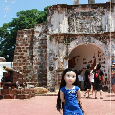 Caitriona in Melaka. Part 3. Portuguese