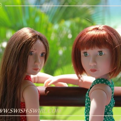 Matilda and Clem on Bintan Island. Part 1. Balcony