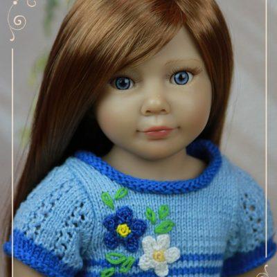 Дженнифер в голубом