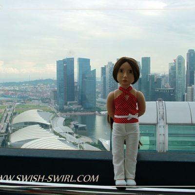 Matilda on Singapore Flyer