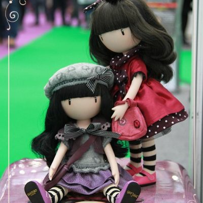 Gorjuss dolls at the Toy Fair 2016
