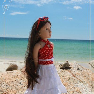 Matilda on Bintan Island. Part 2. Beach.