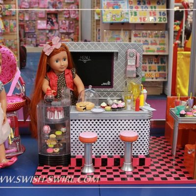 Our Generation dolls at the Toy Fair 2016
