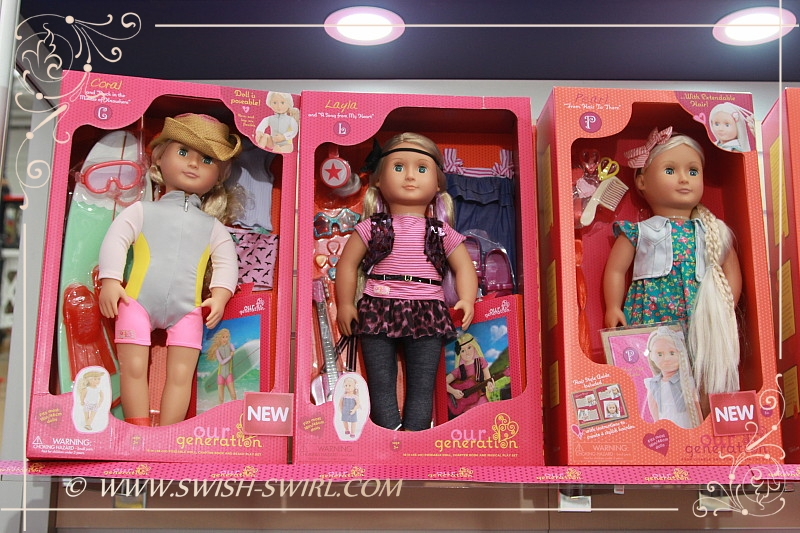 Swish And Swirl Blog Our Generation Dolls At The Toy Fair 2016