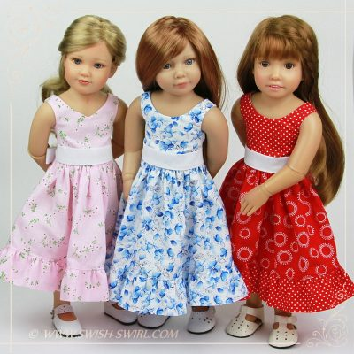 Parisienne dresses for Kidz'n'Cats dolls
