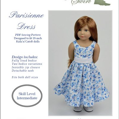 Dress pattern for Kidz'n'Cats dolls