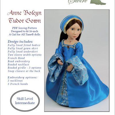Выкройка тюдорского платья «Анна Болейн»