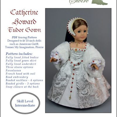 Catherine Howard Tudor Gown pattern